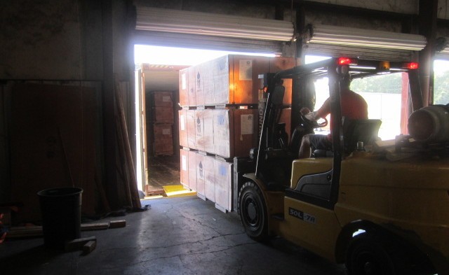 Container loading and unloading - CBC Warehouse LLC